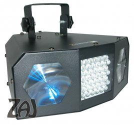 Beamz Uranus Double Moon Strobe Led